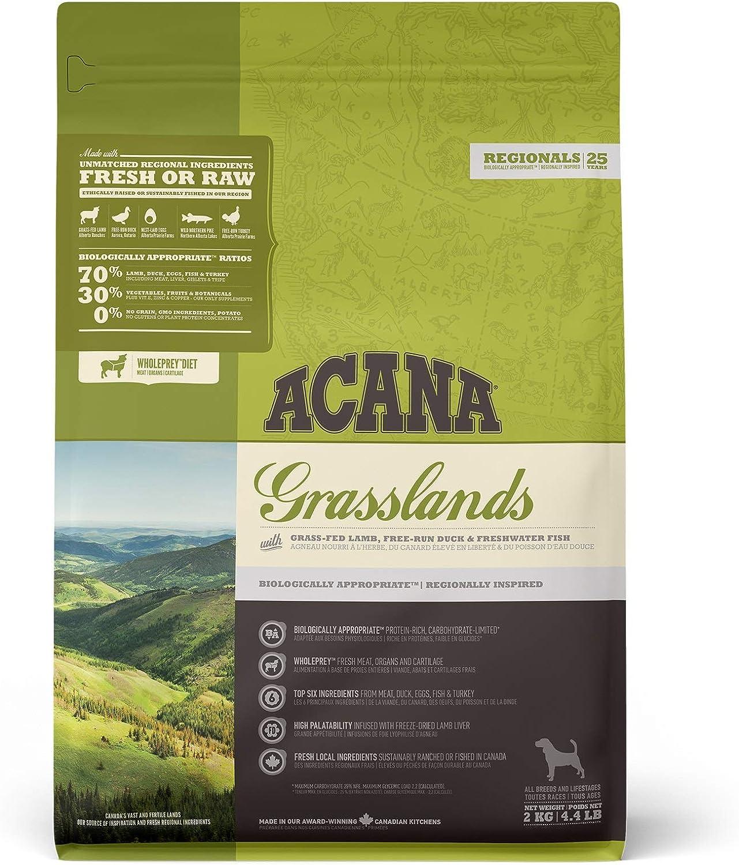 ACANA Grasslands Comida para Perros - 2000 gr