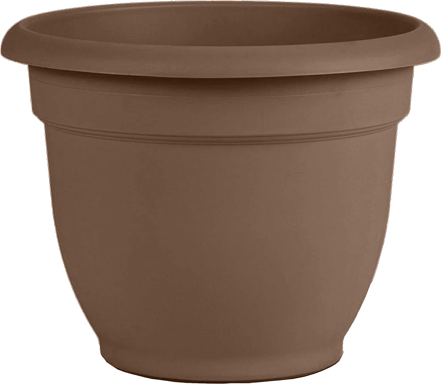 Bloem 20-56308CH Ariana Self Watering Planter, 8 , Chocolate, 8 Inch, Browns