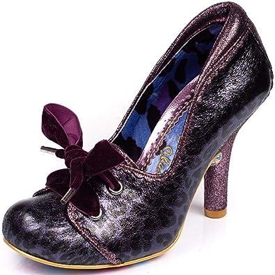 Gravy Purple Black Womens Hi Heels | Pumps