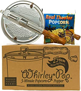 Whirley-Pop Popcorn Popper Kit - Nylon Gear - Red - 1 Real Theater All Inclusive Popping Kit