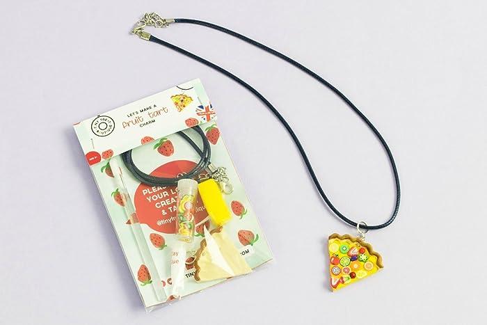Fruit Tart Jewellery Mini Craft Kit Party Bag Favours Birthday