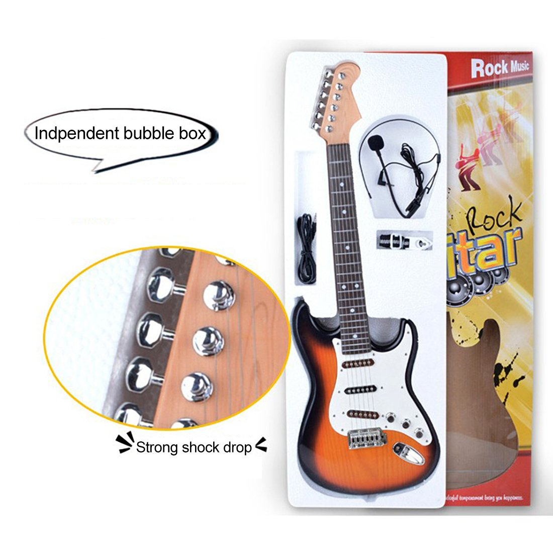 RuiyiF Kids Guitar for Beginners Boys Girls Childs Children Teens 26Inch