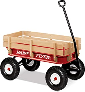 "product image for Radio Flyer 36"" All-Terrain Steel & Wood Wagon"