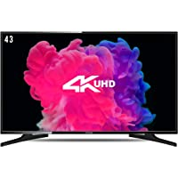 Onida 107.99 cm (43 Inches) 4K UHD LED Smart TV 43UIB1 (Black)