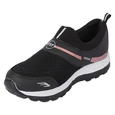 Frestol Fancy Sports Shoes for Mens Black  Buy Online at Low Prices in  India - Amazon.in b863ec5a9