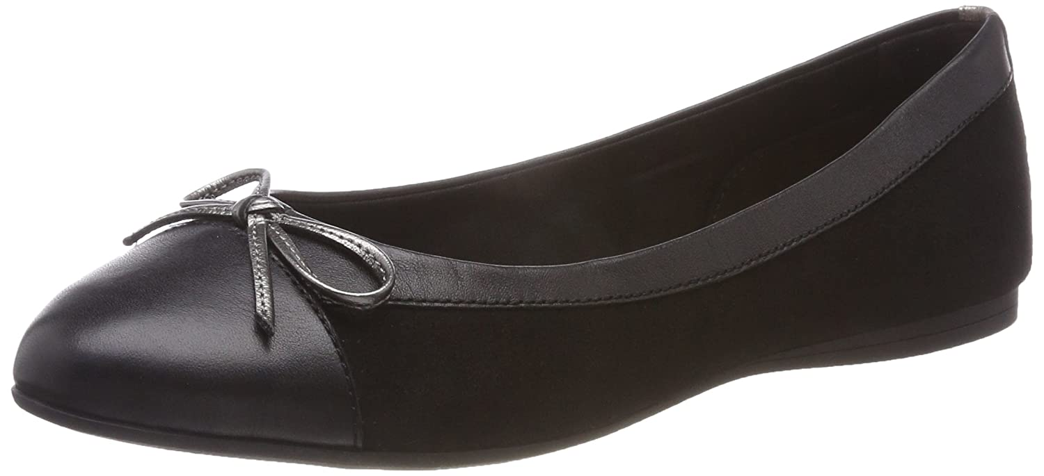 3c82f0aa4c6d6f Tommy Hilfiger Women s Basic Suede Ballerina Ballet Flats  Amazon.co.uk   Shoes   Bags