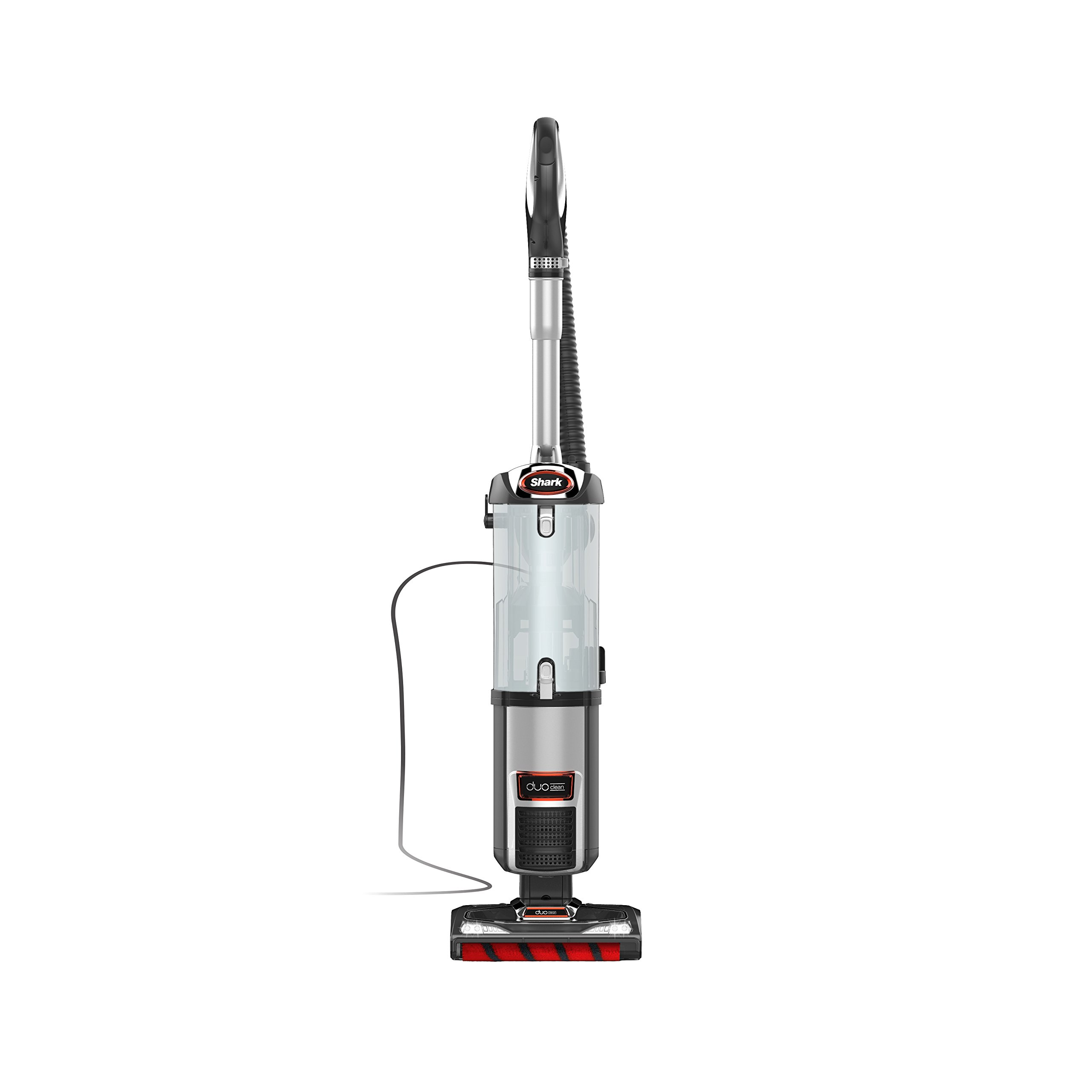 Shark DuoClean Upright Vacuum for Carpet and Hard Floor with Pet Tool, HEPA Filter and Anti-Allergy Seal (NV202), Gray by SharkNinja