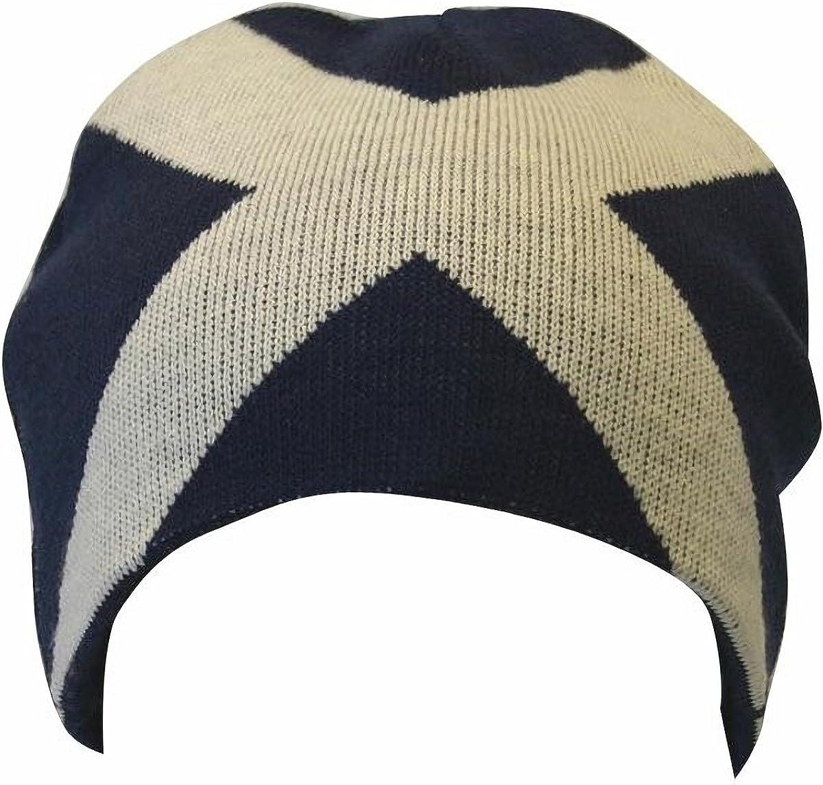 Gorro Beanie de invierno Diseño Cruz de Escocia para hombre ...