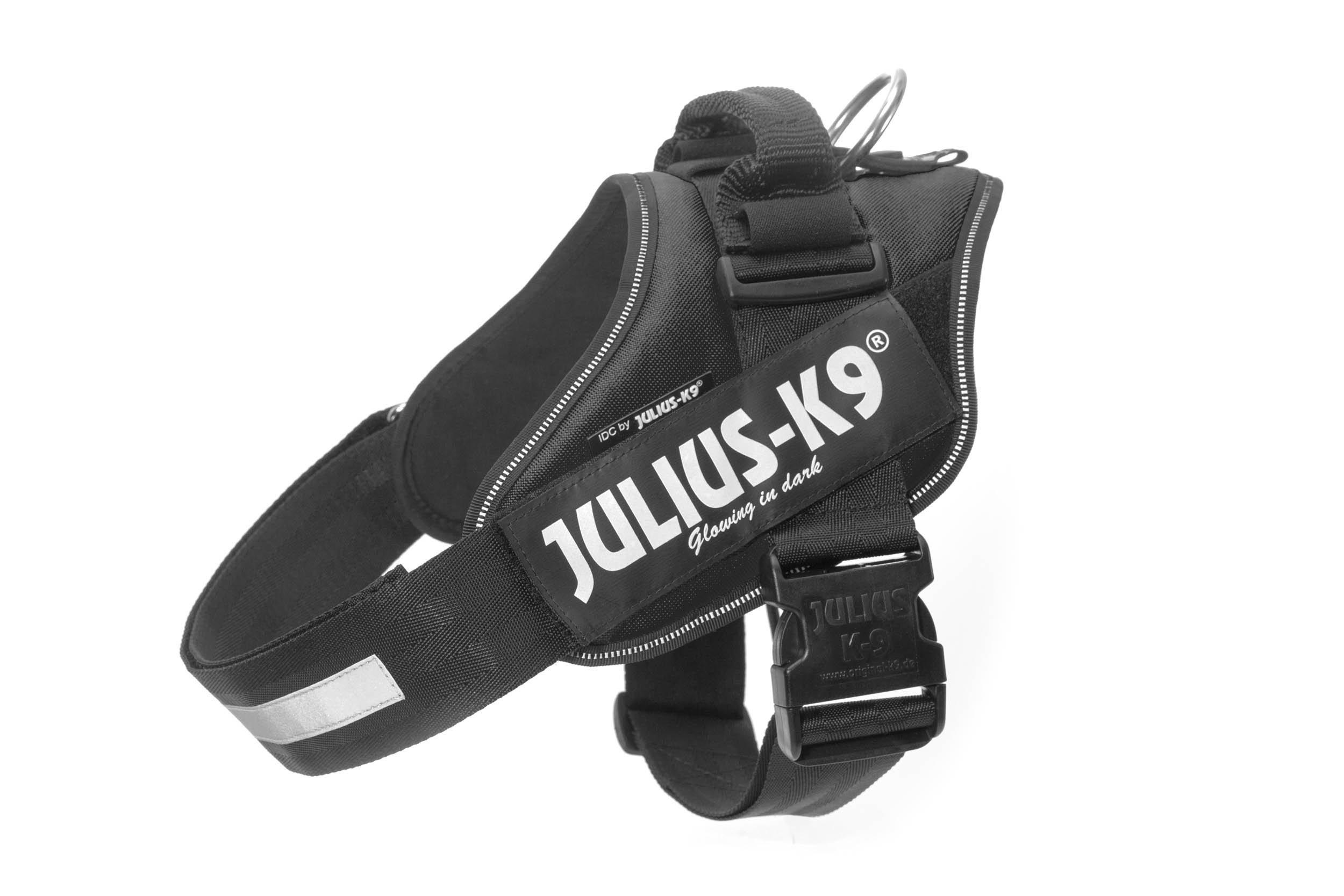 Julius-K9, 16IDC-P-2, IDC Powerharness, dog harness, Size: 2, Black by Julius-K9