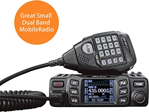 AnyTone AT-778UV Dual Band Transceiver Mobile Radio VHF Uhf Two Way Amateur Radio