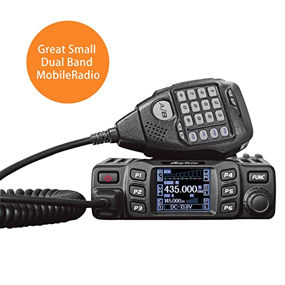AnyTone AT-778UV Dual Band Transceiver Mobile Radio VHF/Uhf Two Way Amateur  Radio