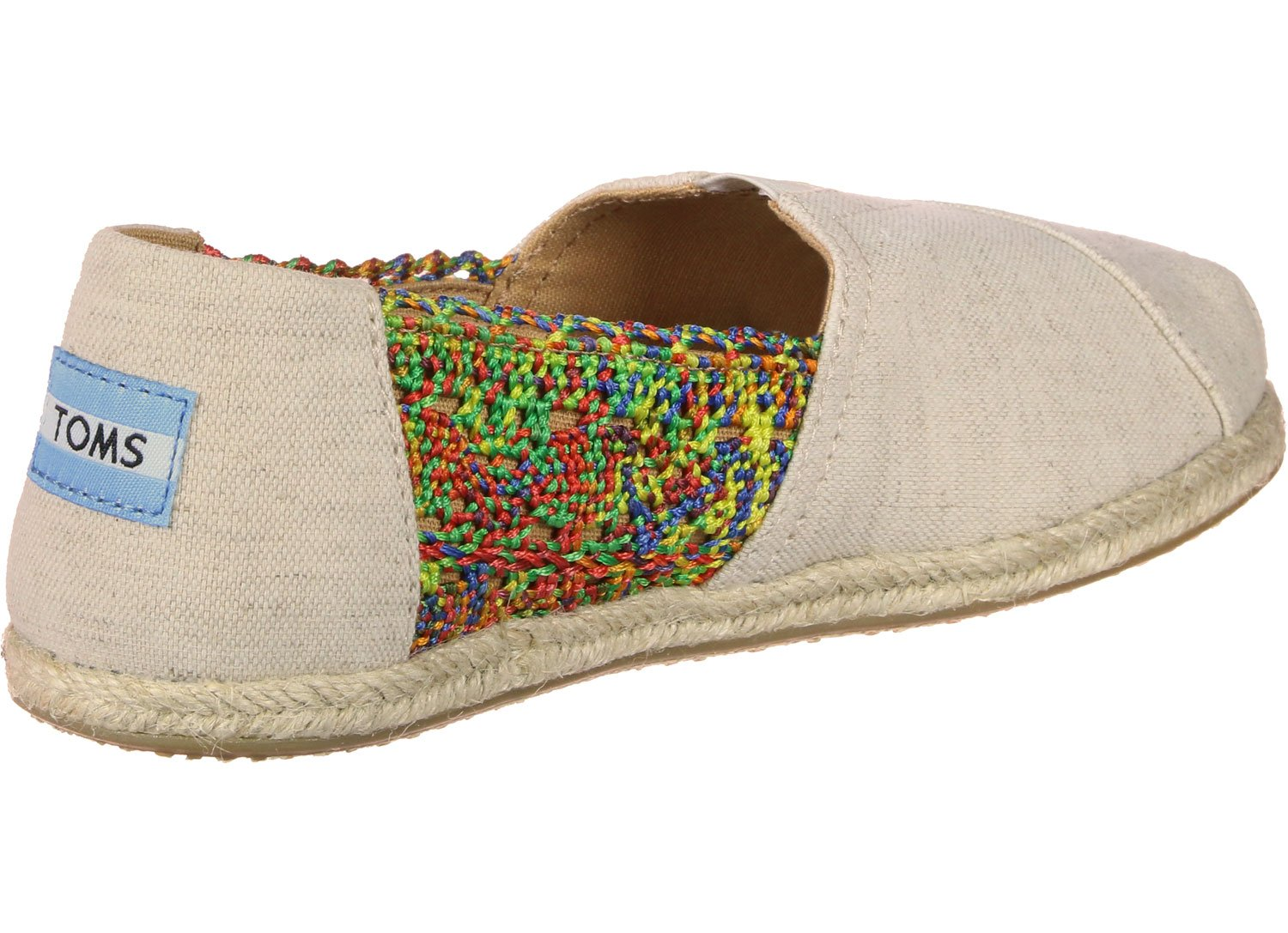 TOMS Canvas Seasonal Classics Alpargata, 19997 Zapatillas Crochet de ...