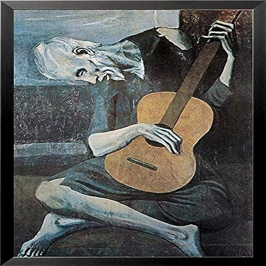 Buyartforless con Marco Pablo Picasso (Old Guitarrista) 36 x 24 ...