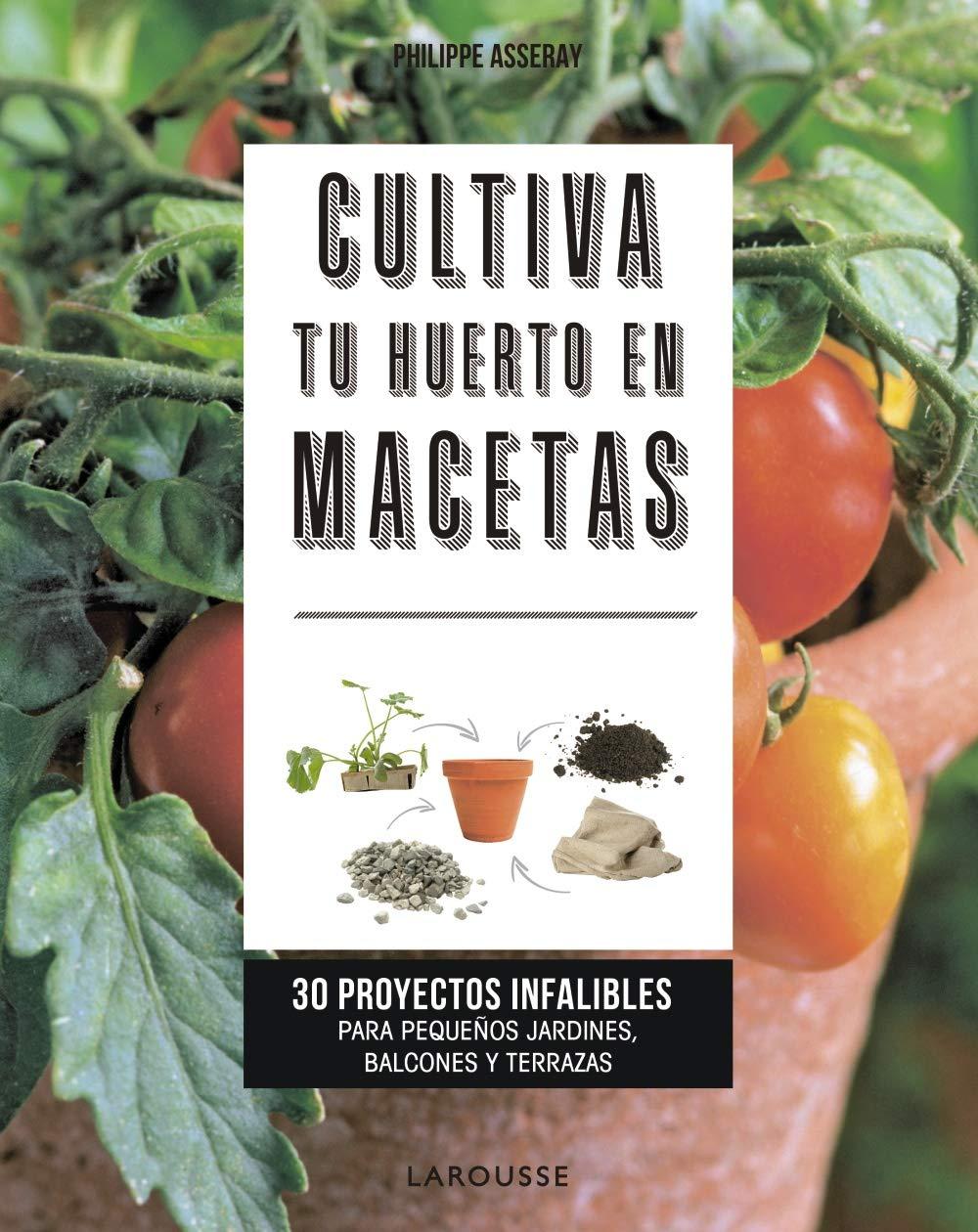 Cultiva tu huerto en macetas: 30 proyectos infalibles para ...