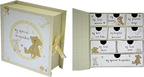 Baby Caja para recuerdos y recuerdos: Amazon.es: Bebé