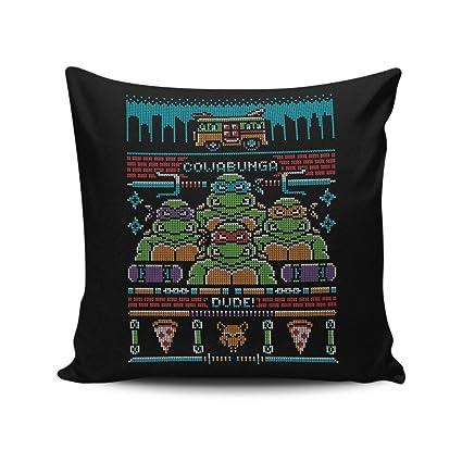 Amazon.com: AnFuK Cowabunga Dude Throw Pillow Cover 18x18 ...
