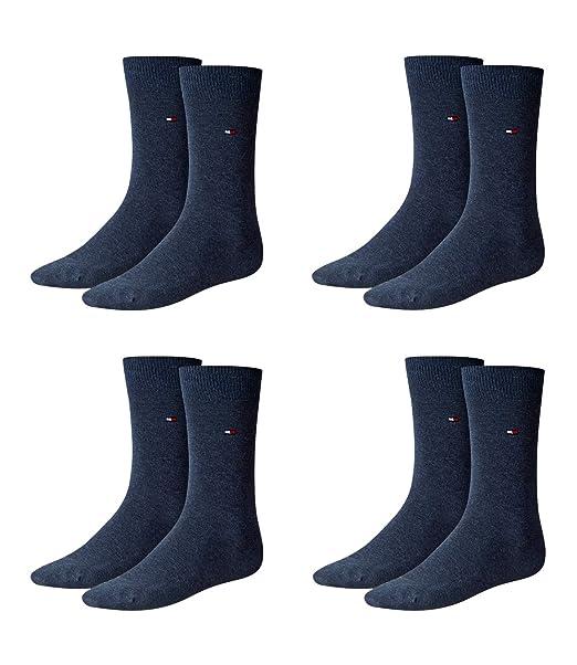 Tommy Hilfiger Classic 2P - Calcetines para hombre Azul Jeans colour 47