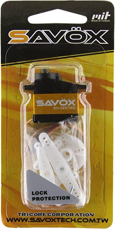 Savox Mini Hi Torque High Voltage Digital Servo .095 sec   277oz HAT