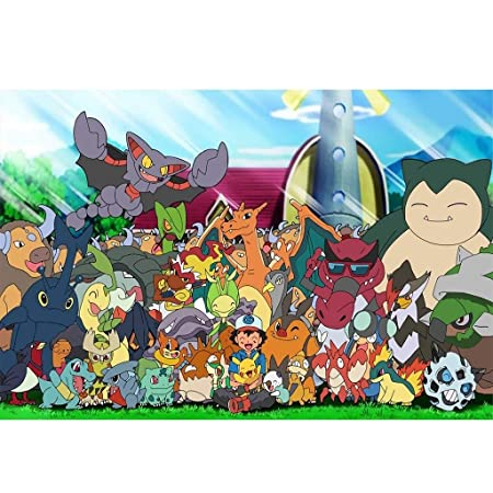AMY-ZW Pokemon Rompecabezas De Madera 500/1000/1500 Piezas ...