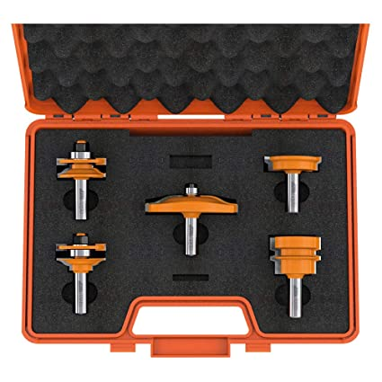 CMT Orange Tools 900.509.11 - Estuche 5 fresas para cocinas ...