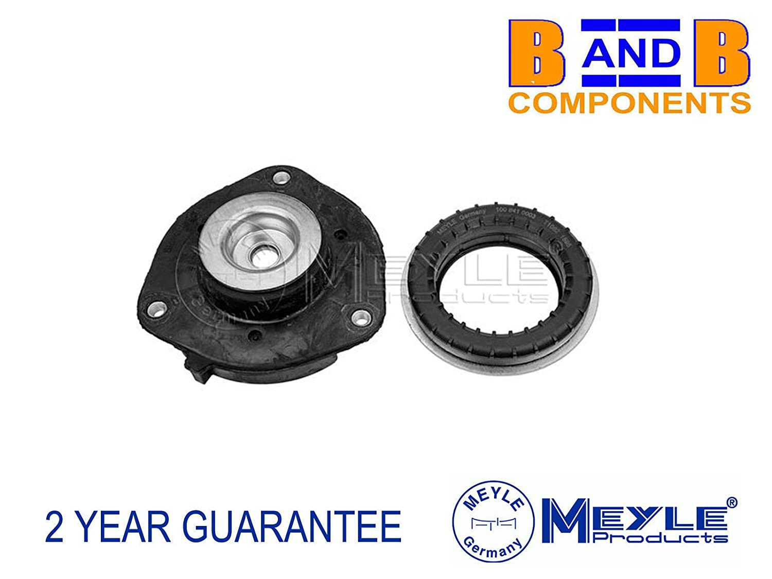 Meyle 100 412 2039/S Front Shock Strut Top Mount and Bearing A972