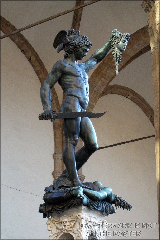 Amazon Com 16x24 Poster Perseus With The Head Of Medusa
