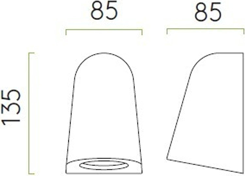 IP65 Applique ext/érieure Mast Light Astro Lighting