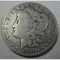 1891 O Morgan Dollar Dollar Very Good