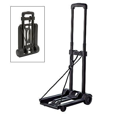 BlueCosto Lightweight Portable Folding Luggage Carts Travel Trolley