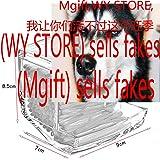 ILJILU Acrylic Cotton Box Stems Holder Box