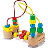 Melissa & Doug First Bead Maze - Wooden Educational Toy