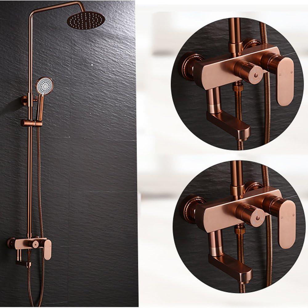 LY-shower Mampara de Ducha de Aluminio con Espacio Mampara de Ducha de Control con Cinco Funciones Mampara de Ducha con mampara de Ducha: Amazon.es: Hogar