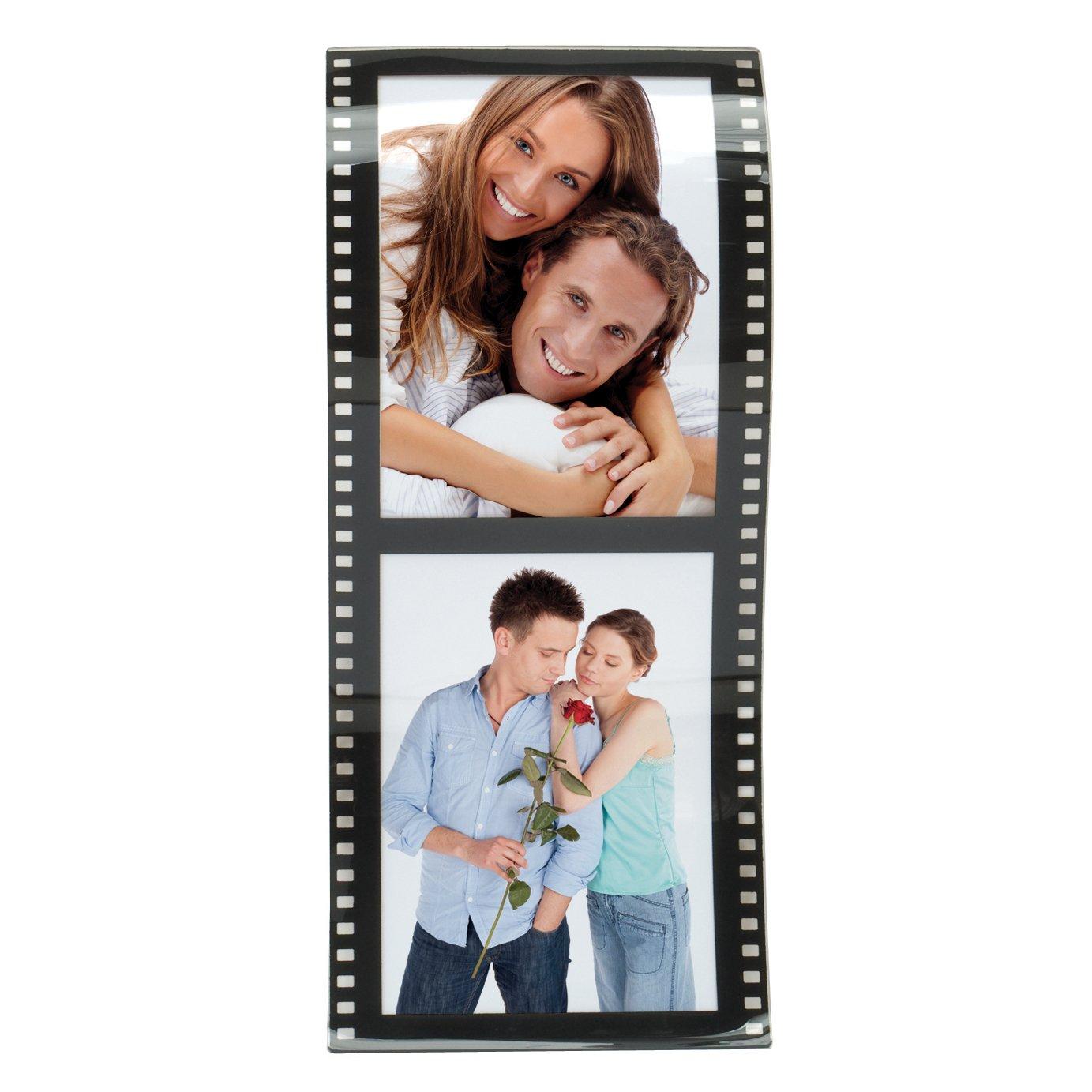 Vertikal Filmstreifen Wave Frames, plastik, 2 Photos: Amazon.de ...