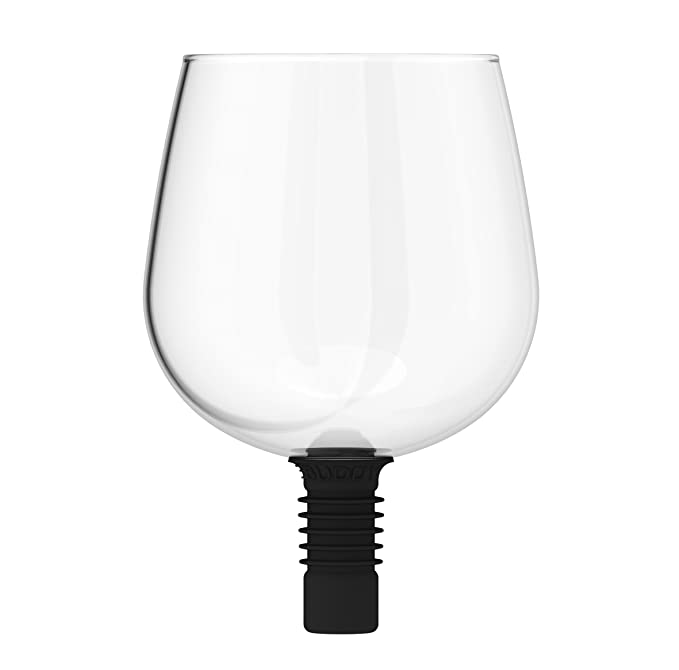 Guzzle Buddy Wine Bottle Glass, It Turns Your Bottle of Wine Into ...