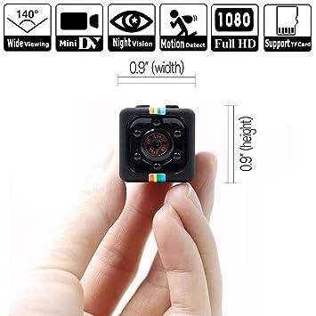 GX Cámara espía Oculta 1080P Mini Leva inalámbrica Segura con visión Nocturna, Grabador de vídeo
