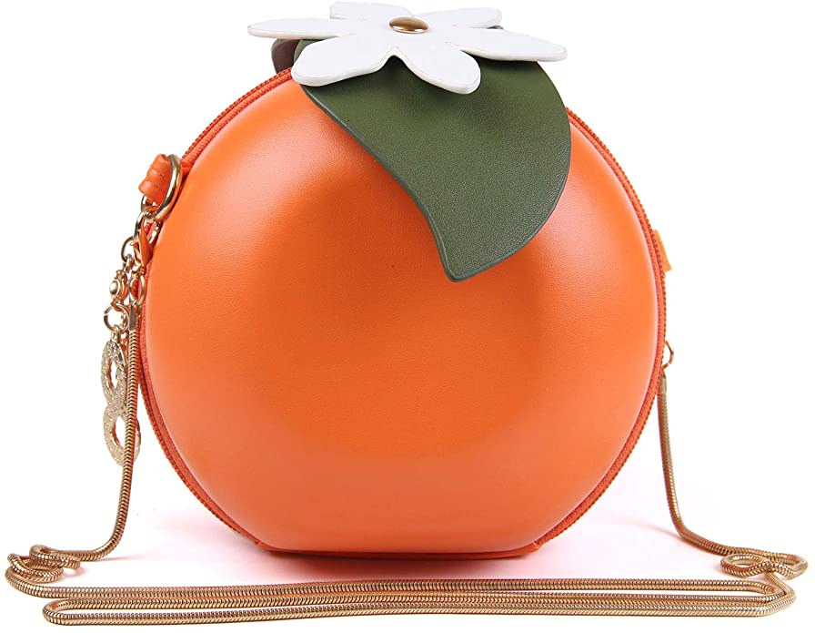 1950s Handbags, Purses, and Evening Bag Styles New Cute Fruits Watermelon Lemon Orange Cross body Bags Clutch Purse Novelty Shell Pearl Shoulder Bags $22.68 AT vintagedancer.com