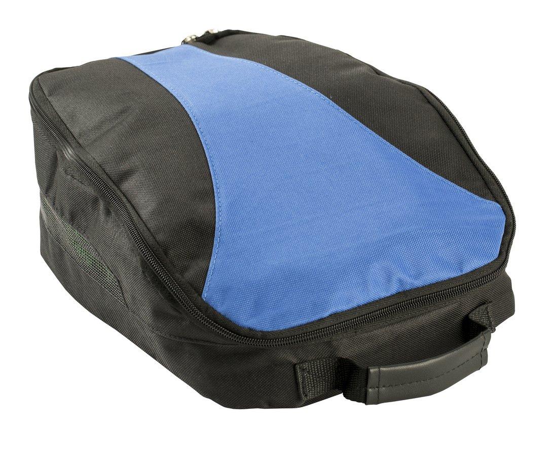 IZZO Golf #90592 Shoe Bag, Blue/Black by IZZO Golf