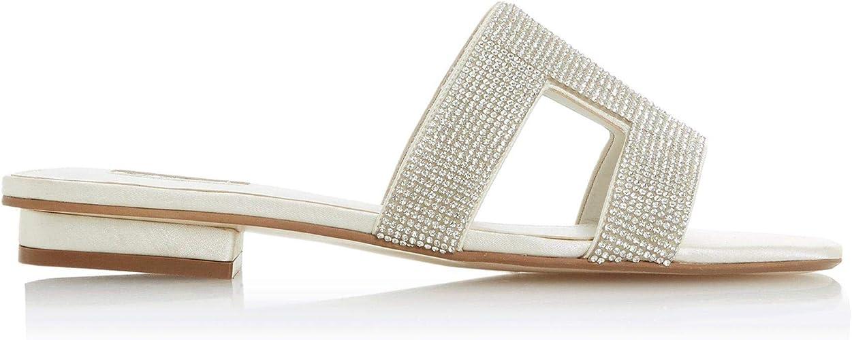 Dune Ladies Women's Novia Diamante Slip