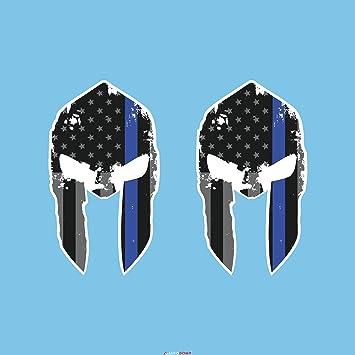 Sticker Autoadesivo per Auto Biker Warrior Airsoft Molon Labe Elmo Spartano r9 Moto