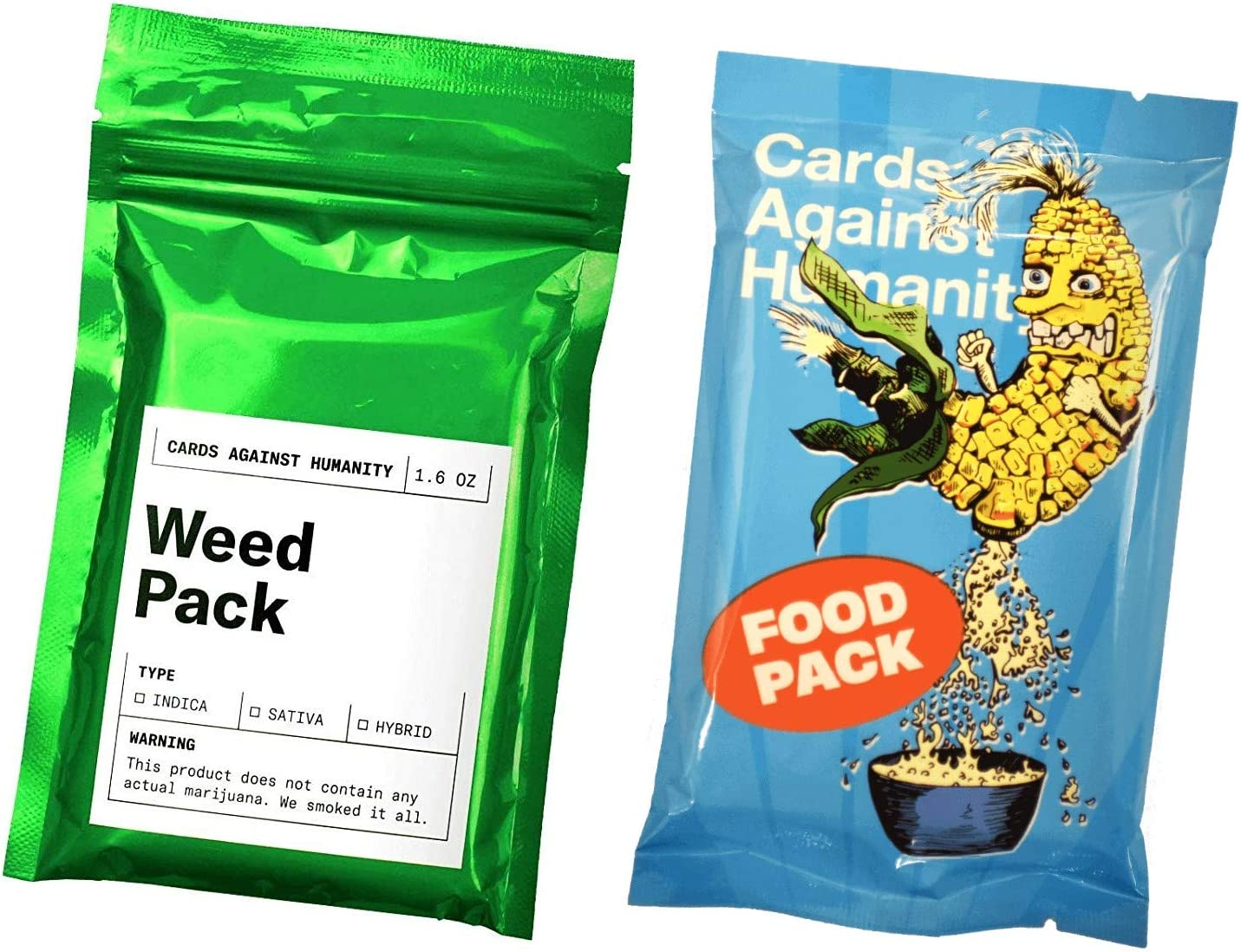 Cards Against Humanity Weed & Food Expansion Packs