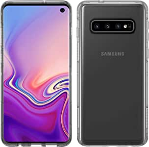 Pelican Adventurer Samsung Galaxy S10 Phone Case, Slim Dual-Layer Protective Smartphone Cover, Shockproof and Drop-Tested Accessory (Clear/Black)