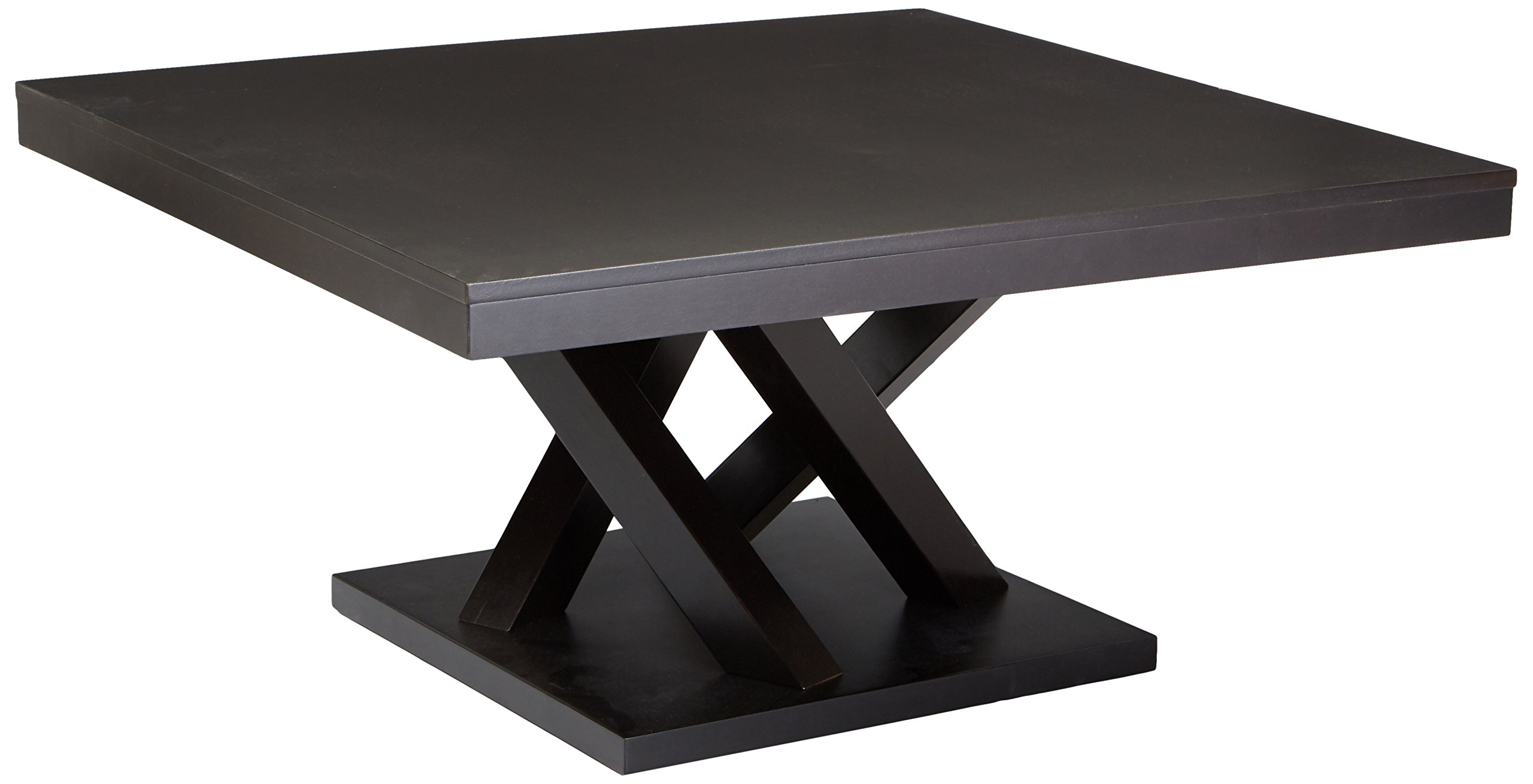 Baxton Studio Everdon Modern Coffee Table, Dark Brown by Baxton Studio