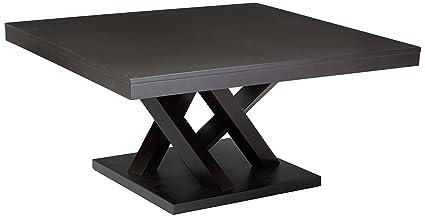Amazon Com Baxton Studio Everdon Modern Coffee Table Dark Brown