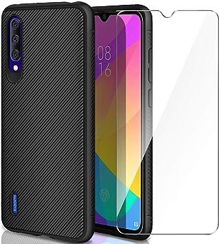 AROYI Carcasa Xiaomi Mi 9 Lite/Xiaomi Mi A3 Lite Funda Silicona ...