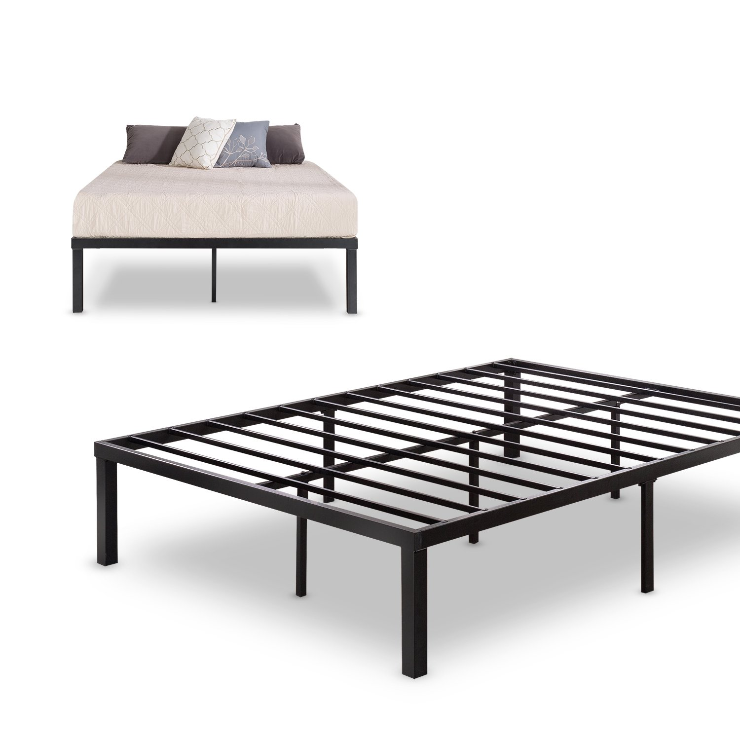 Bed Frame Mattress Foundation Zinus Quick Lock 14 Inch