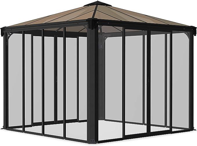 Palram Ledro 3000 - Cenador Cerrado para jardín (8, 7 m2 ...