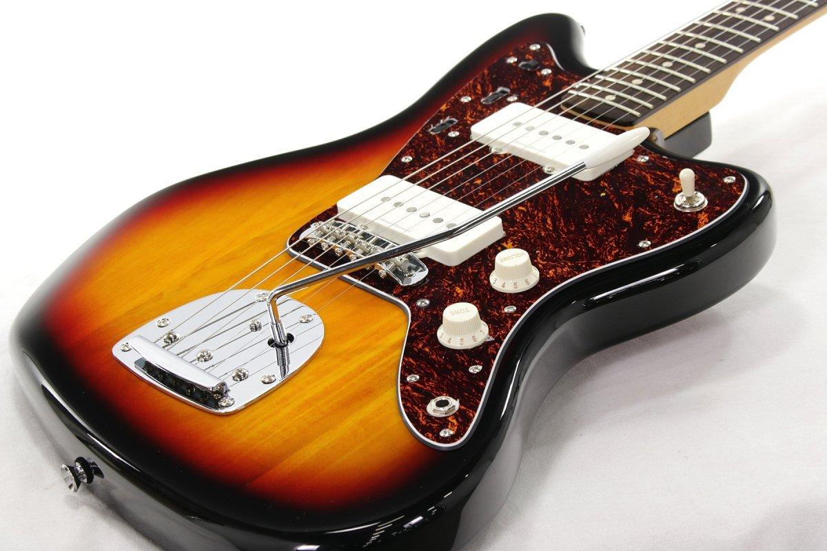 Squier/Vintage Modified Jazzmaster 3Tone Sunburst スクワイヤー B07FBVM5HZ
