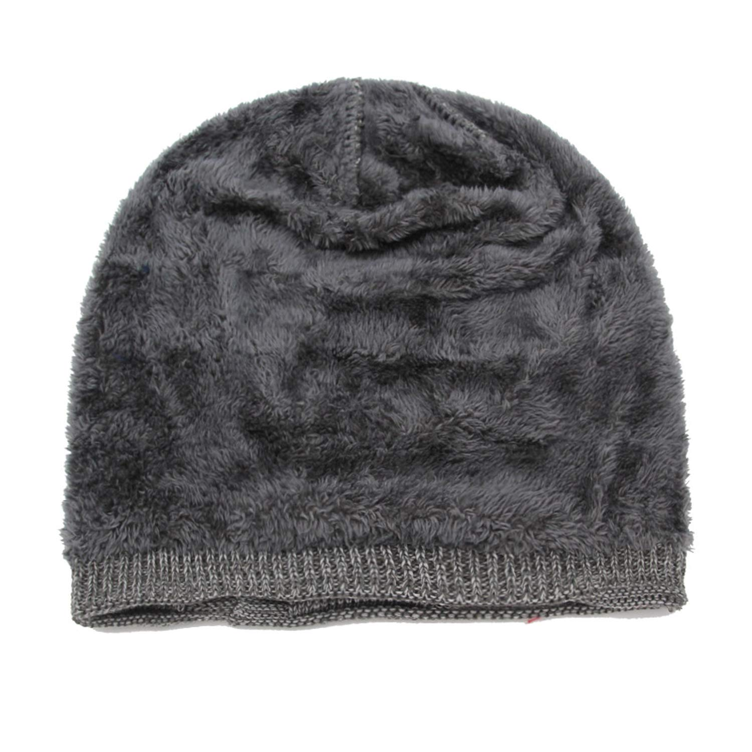 ANDERDM Knitted Hat Winter Hats for Women Men Beanie Baggy Male Gorros Bonnet Warm Caps Fashion Thick Skullies Hats
