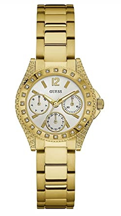c092854f9487 Buy GUESS Analog White Dial Women s Watch - W0938L2 Online at Low ...