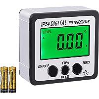 AUTOUTLET Inclinómetro Digital Protractor 4 * 90 °